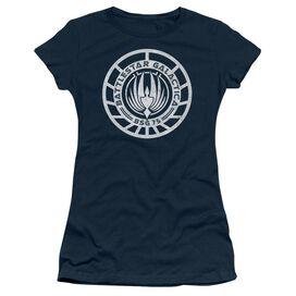 Bsg Scratched Bsg Logo Short Sleeve Junior Sheer T-Shirt