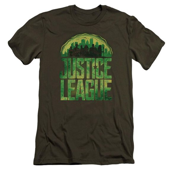 Justice League Movie Kryptonite Hbo Short Sleeve Adult Military T-Shirt