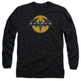 Batman Unlimited Tech Logo Long Sleeve Adult T-Shirt