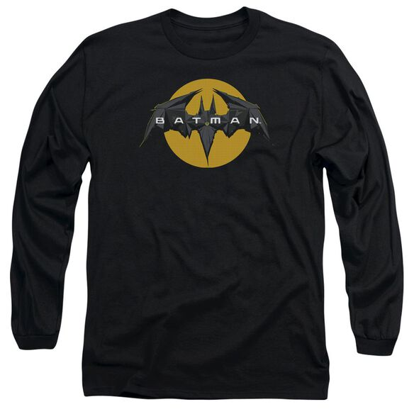 Batman Unlimited Tech Logo Long Sleeve Adult T-Shirt
