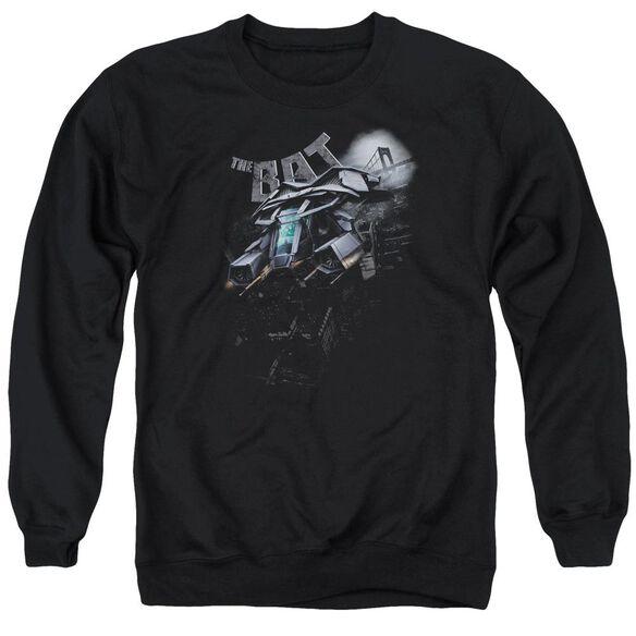 Dark Knight Rises Patrol The Skies Adult Crewneck Sweatshirt