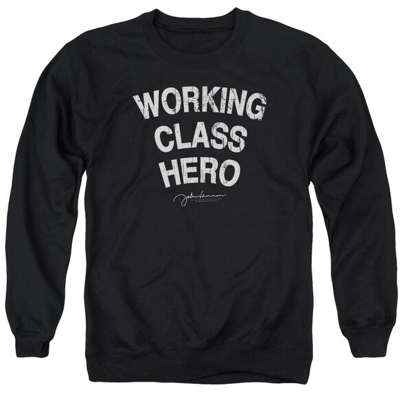 John Lennon Working Class Hero Adult Crewneck Sweatshirt