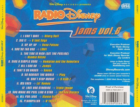 Radio Disney Jams V6