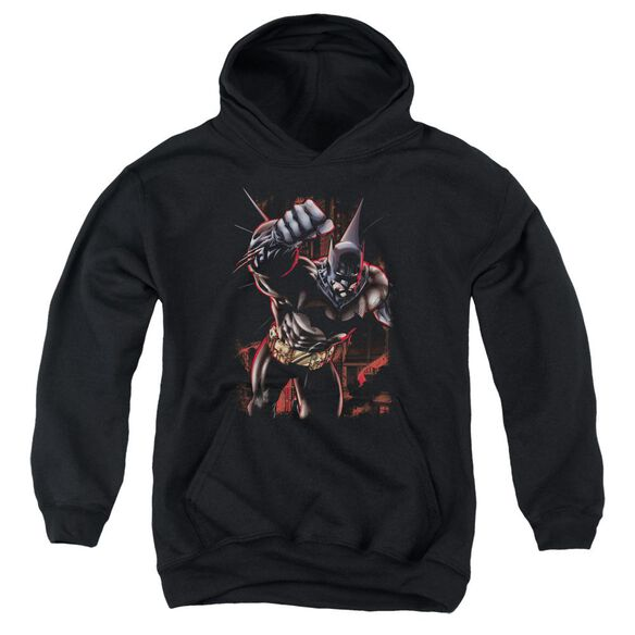 Batman Crimson Knight Youth Pull Over Hoodie