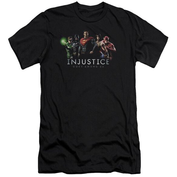 Injustice Gods Among Us Injustice League Premuim Canvas Adult Slim Fit