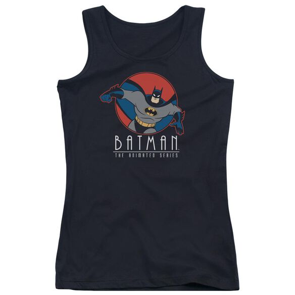 Batman The Animated Series Punch Out Juniors Tank Top