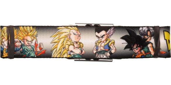 Dragon Ball Z Gotenks Parts Seatbelt Belt