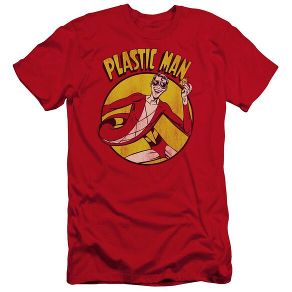 Dc Plastic Man Premuim Canvas Adult Slim Fit