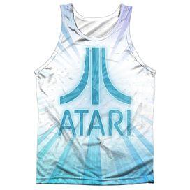 Atari Burst Logo Adult Poly Tank Top