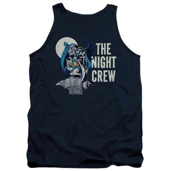 Dc Night Crew Adult Tank