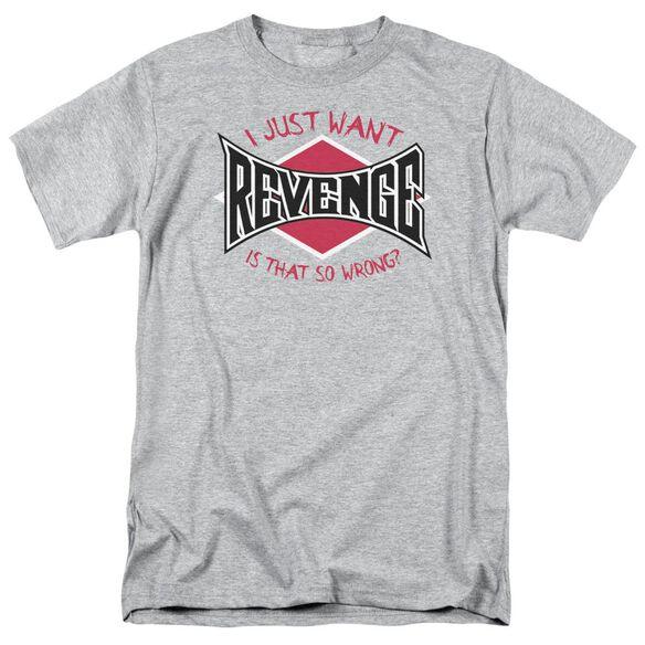 Revenge Short Sleeve Adult Athletic T-Shirt