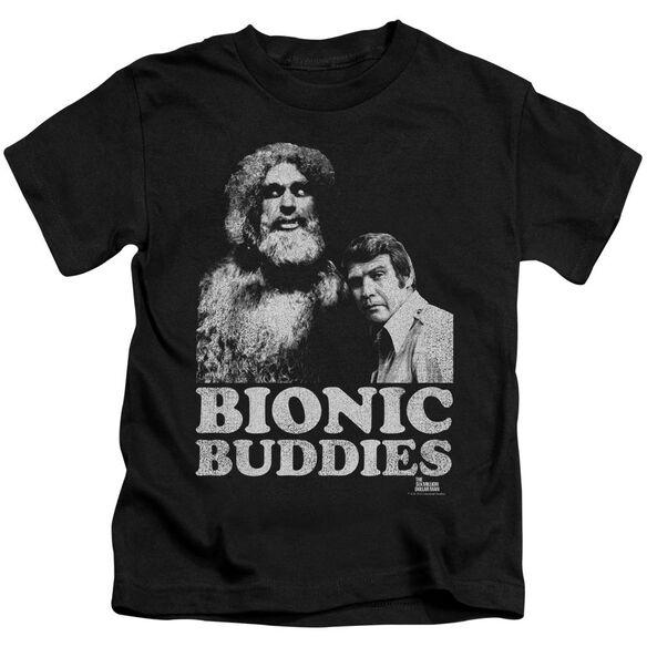 Six Million Dollar Man Bionic Buddies Short Sleeve Juvenile T-Shirt