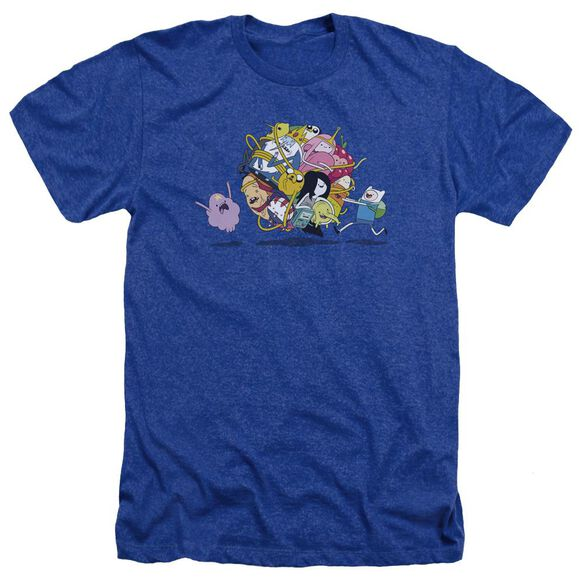 Adventure Time Glob Ball Adult Heather Royal