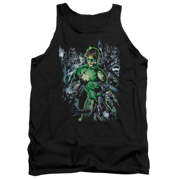 Green Lantern Surrounded By Death Adult Tank