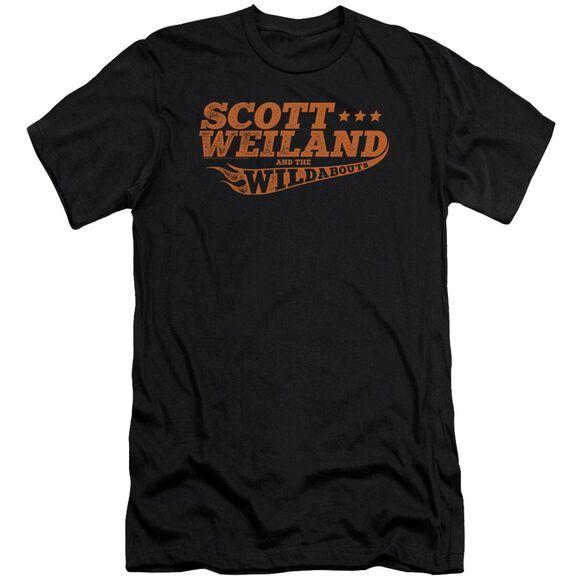Scott Weiland Logo Premuim Canvas Adult Slim Fit
