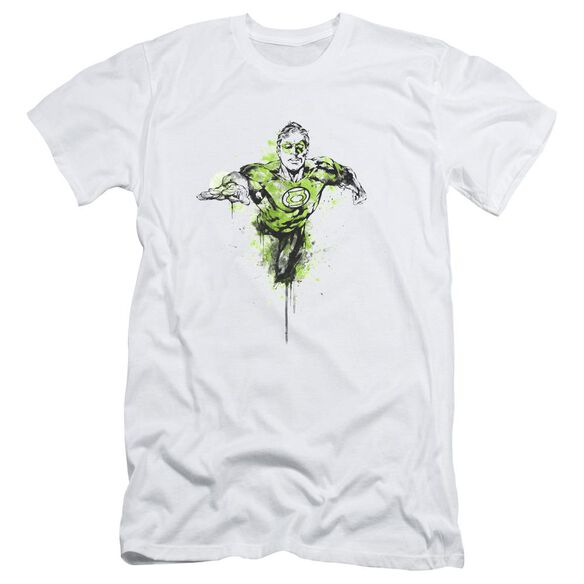 Green Lantern Inked Short Sleeve Adult T-Shirt