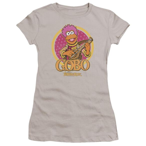Fraggle Rock Gobo Circle Premium Bella Junior Sheer Jersey