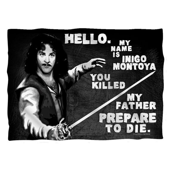 Princess Bride Hello Again Pillow Case White
