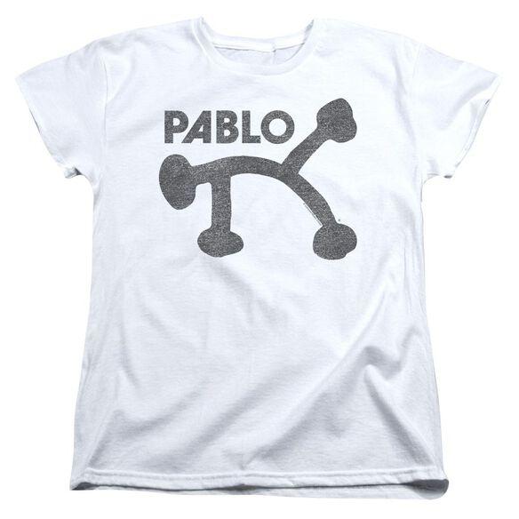 Pablo Retro Pablo Short Sleeve Womens Tee T-Shirt