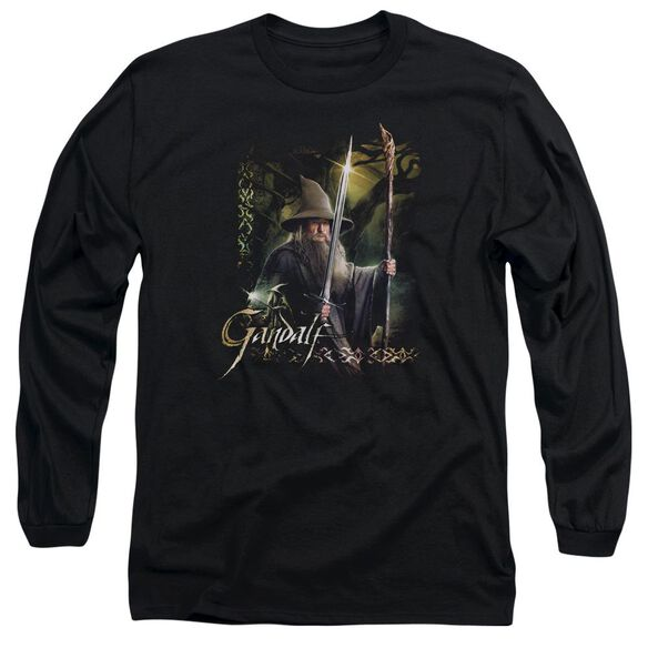Hobbit Sword And Staff Long Sleeve Adult T-Shirt