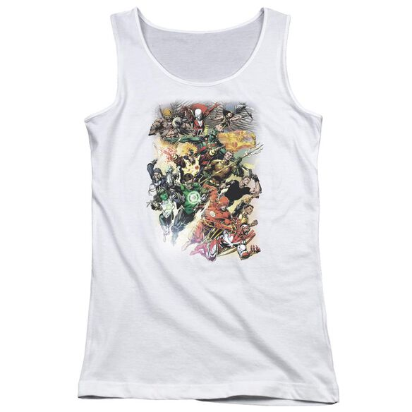 Jla Brightest Day #0 Juniors Tank Top