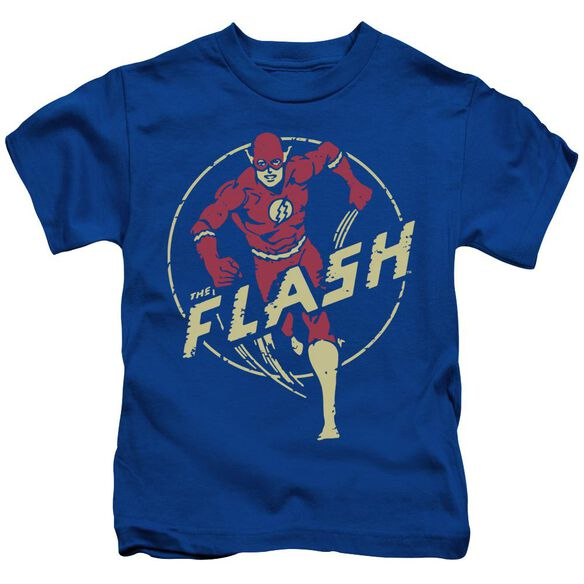 Dc Flash Flash Comics Short Sleeve Juvenile Royal T-Shirt
