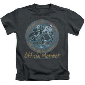 LITTLE RASCALS HE MAN WOMAN HATERS - S/S JUVENILE 18/1 - CHARCOAL - T-Shirt