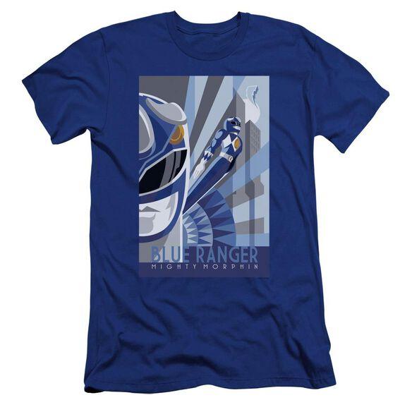 Power Rangers Ranger Deco Premuim Canvas Adult Slim Fit Royal