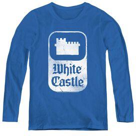 White Castle Classic Logo-womens Long Sleeve