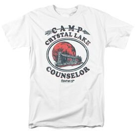 Friday The 13 Th Camp Counselor Short Sleeve Adult T-Shirt
