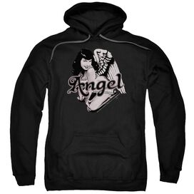 Bettie Page Bettie Angel Adult Pull Over Hoodie
