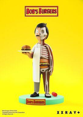XXRay Bob's Burgers Bob Belcher Limited Edition