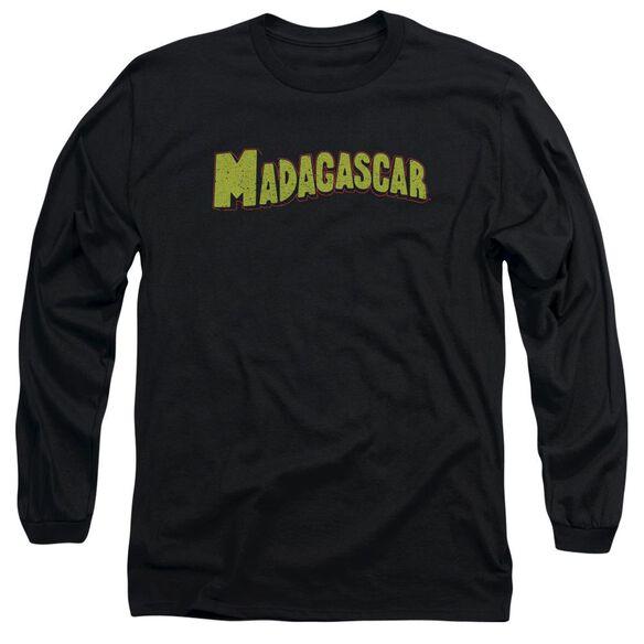 Madagascar Logo Long Sleeve Adult T-Shirt