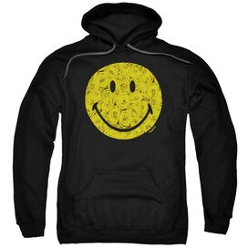 Smiley World Rosey Face Adult Pull Over Hoodie