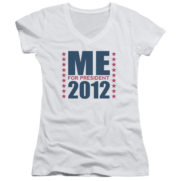 Me For President Junior V Neck T-Shirt