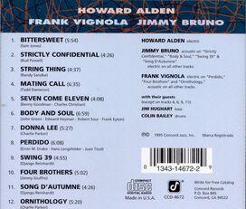 Howard Alden/Frank Vignola/Jimmy Bruno - Concord Jazz Guitar Collective