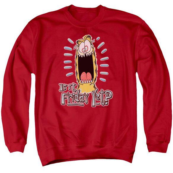 Garfield Friday Adult Crewneck Sweatshirt