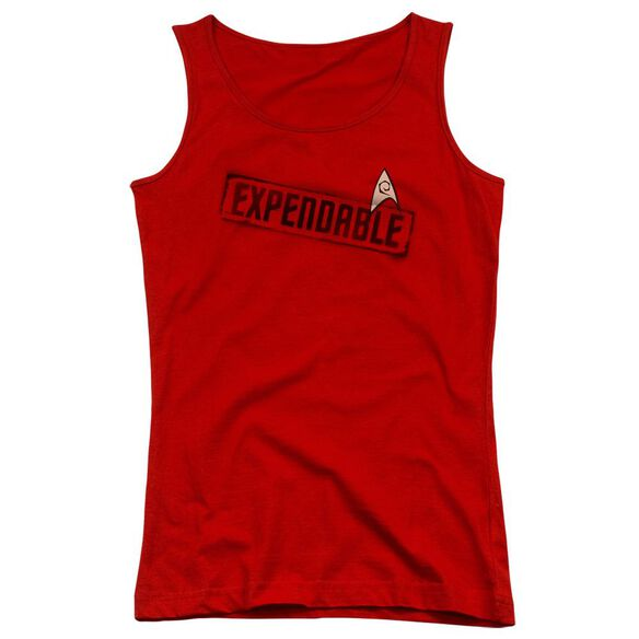 Star Trek Expendable Juniors Tank Top