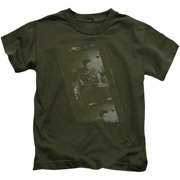 Elvis Army Short Sleeve Juvenile Military T-Shirt