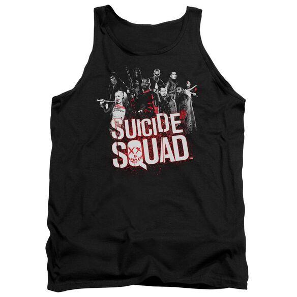 Suicide Squad Squad Splatter Adult Tank