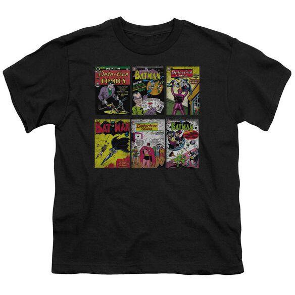 Batman Bm Covers Short Sleeve Youth T-Shirt