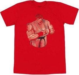 Street Fighter Ryu T-Shirt Sheer