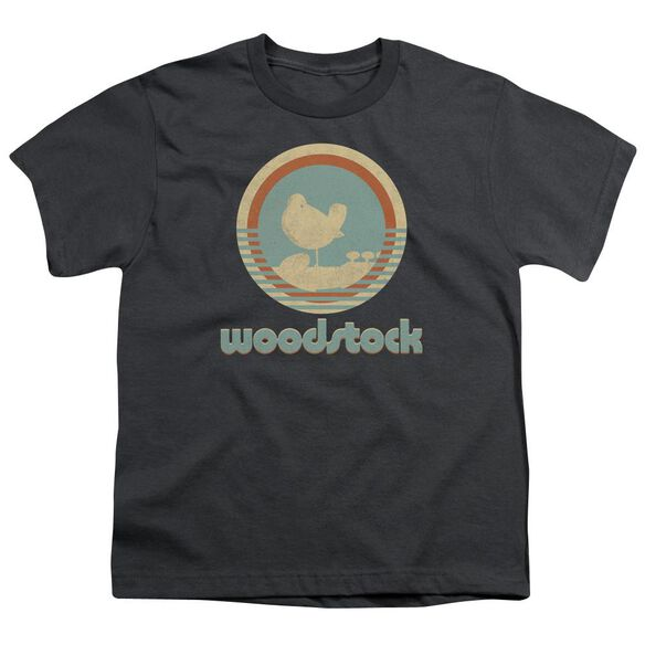 Woodstock Bird Circle Short Sleeve Youth T-Shirt