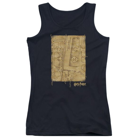 Harry Potter Marauders Map Interior Juniors Tank Top