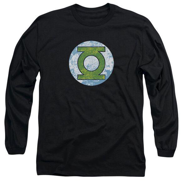Dco Gl Neon Distress Logo Long Sleeve Adult T-Shirt