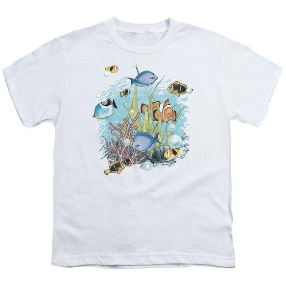 Wildlife Tropical Fish Short Sleeve Youth T-Shirt