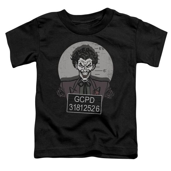 Batman Busted! Short Sleeve Toddler Tee Black Sm T-Shirt