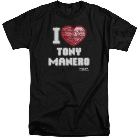 Saturday Night Fever I Heart Tony Short Sleeve Adult Tall T-Shirt