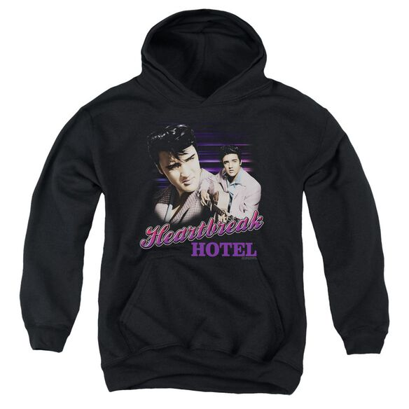 Elvis Heartbreak Hotel Youth Pull Over Hoodie