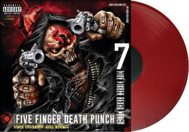 Five Finger Death Punch - And Justice For None [Exclusive Red Vinyl]